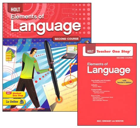 Holt Elements Of Language Homeschool Package Grade 8 (second Course) (047824) Details Rainbow