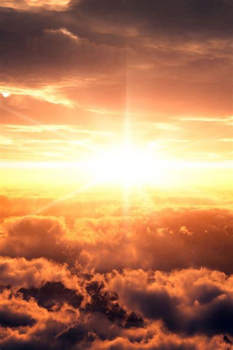 heaven sun clouds landscapes skies wallpaper