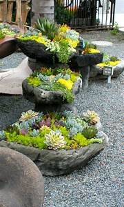 Blumentöpfe Aus Beton : kreative ideen f r blument pfe in ihrem garten ~ Michelbontemps.com Haus und Dekorationen
