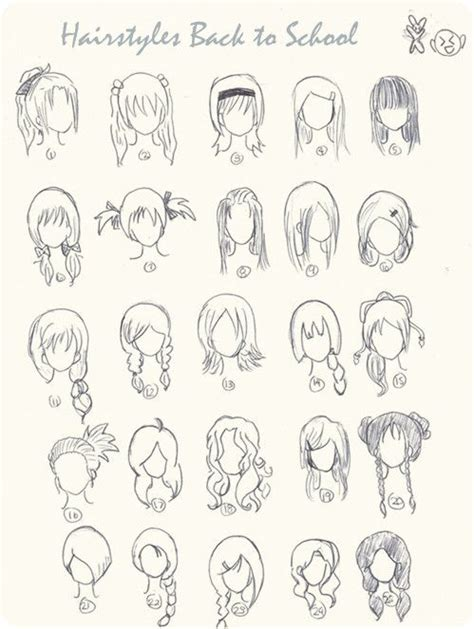 top  ombre hairstyles    school   draw