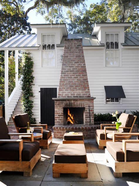 Outdoor Fireplace Ideas  Design Ideas For Outdoor