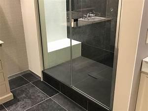 Installation D Une Cabine De Douche : installation de douches italiennes dans votre salle de bain ~ Premium-room.com Idées de Décoration