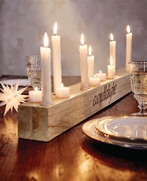 candle light kerzen kerzenhalter quot candlelight quot holz kerzen und