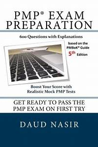 Pmp Exam Preparation  600 Questions With Explanations