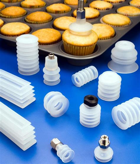 food grade suction cups handle muffins cakes  pastry