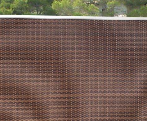 Sichtschutz Fuer Die Terrasse Aus Bambus Oder Aus Kunststoff by Sichtschutz Terrasse Aus Polyrattan 88x88 Im Discount Kaufen