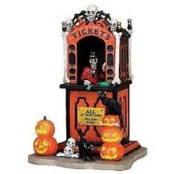 spooky town lemax carnival collection bing images
