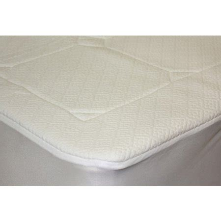 mattress pad walmart pur rest quilted memory foam mattress pad walmart