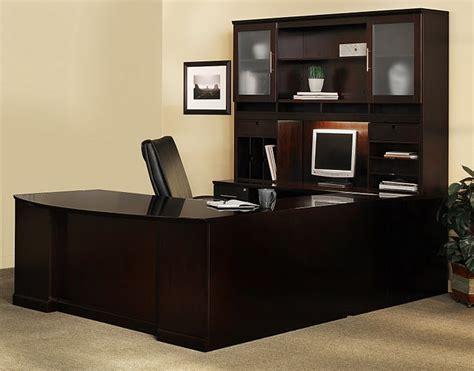 u shaped executive desk with hutch executive office desk sorrento u shape executive office