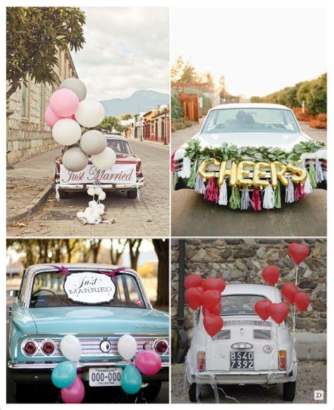 decoration voiture cortege mariage decoration voiture mariage ballons cort 232 ge d 233 coration voiture mariage