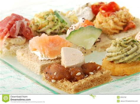 appetizer canape appetizer canape stock photography image 2656792