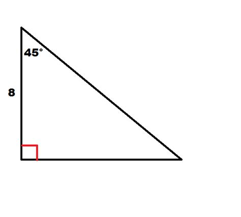 How To Find The Perimeter Of A 454590 Right Isosceles Triangle  Basic Geometry