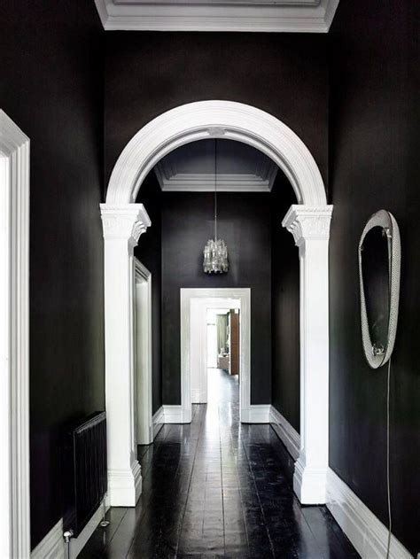 ideas  dark hallway  pinterest narrow
