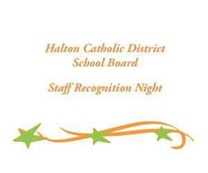 halton catholic board celebrates years service