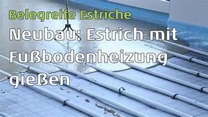 Aufbau Estrich Dämmung : neubau estrich mit fu bodenheizung der weg vom gie en ~ Articles-book.com Haus und Dekorationen
