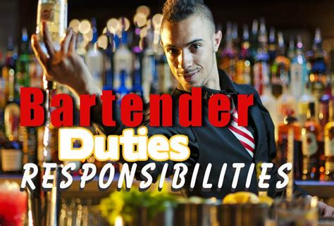 How To Make Bartending Sound Professional On A Resume by Bartender 101 Bartending Center Bartender Guide