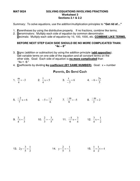 worksheet works solving multi step equations distributive with parentheses printable