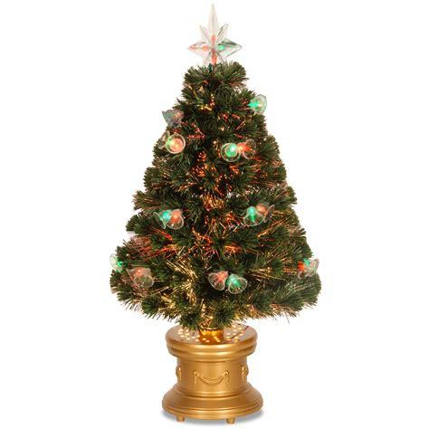 kmart fibre optic christmas tree national tree company 36 quot fiber optic bell tree seasonal trees