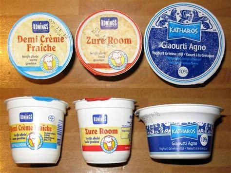 verschil tussen kookroom en creme fraiche