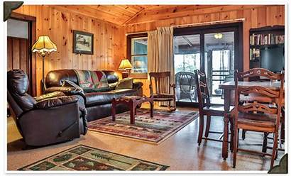 Cabin Bedroom Birchwood Cabins Lake Northern Wi