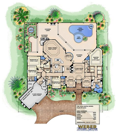 house plans with swimming pools baby nursery villa plans with swimming pool house plans