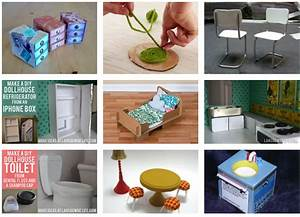 diy dollhouse furniture tutorials child therapy With homemade furniture tutorials