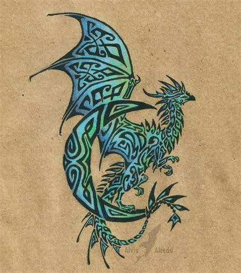 latest dragon tattoo designs