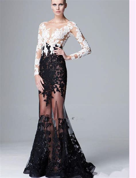 Cocktail Dress For Prom Night With Sleeves  Women's Style