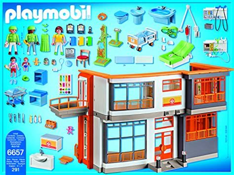 playmobil furnished children s hospital playset new ebay