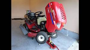 Diy Get Your Lawn Tractor Ready For Spring Toro Lx 425 Kohler 20hp
