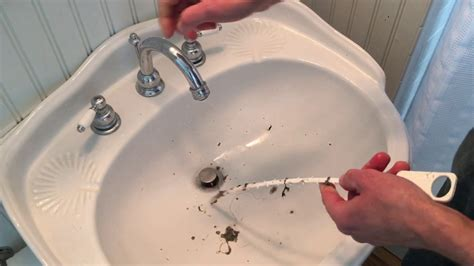 easy   unclog  sink  shower drain zip