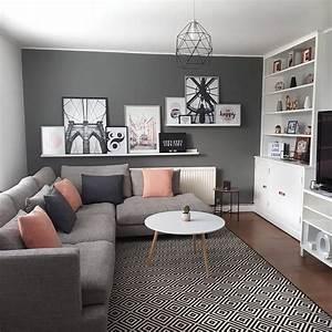 Grey, Living, Room, Scandinavian, Inspired, Renovation, On, A