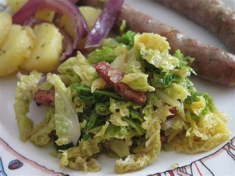 blogs recettes de cuisine recettes de chou vert et lardons