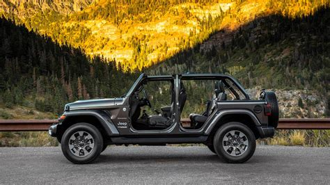 2018 Jeep Wrangler Sheds Weight, Adds Tech And 20l Turbo