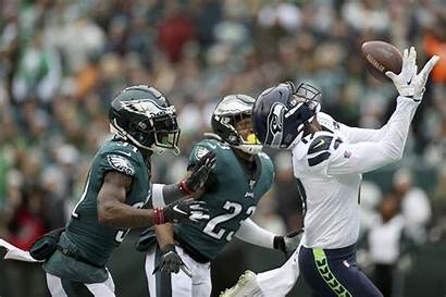 Eagles Philadelphia Seahawks Seattle Signs Touchdown Inquirer