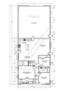 farm shop with living quarters floor plans floor ideas