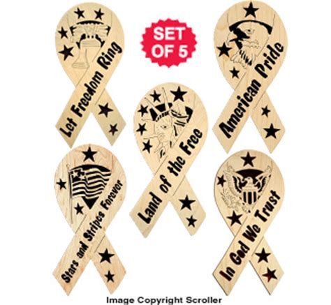 wooden ribbon designs complete pattern set