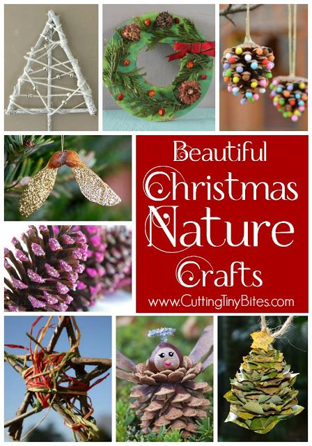 nature crafts for what can we do with 860 | Christmas Nature Crafts Kids