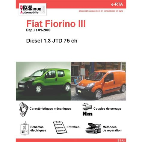 revue technique fiat fiorino iii diesel rta site