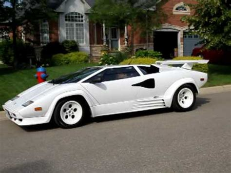 lamborghini countach replica departure cambridge
