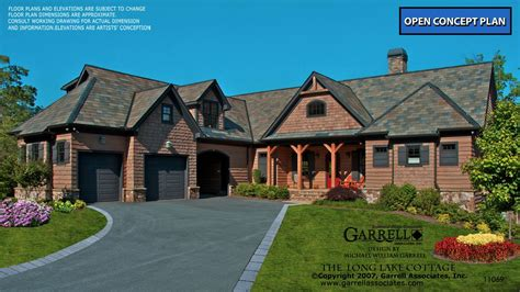 Long Lake Cottage House Plan Garrell Associates Inc