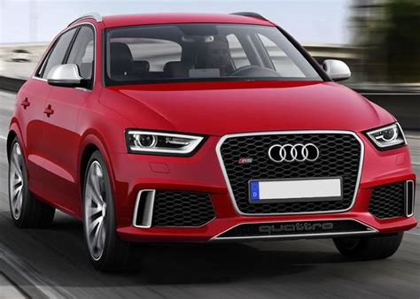 news audi removes wraps on rapid rs q3 for geneva motor show dearcars