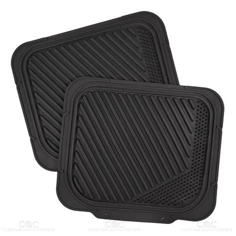 rear floor mats channeled heavy duty rubber car floor mats front