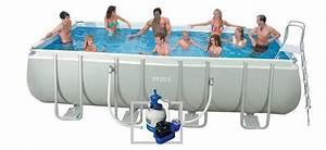 Piscine Tubulaire Hors Sol : piscine intex ultra silver piscine center net ~ Melissatoandfro.com Idées de Décoration