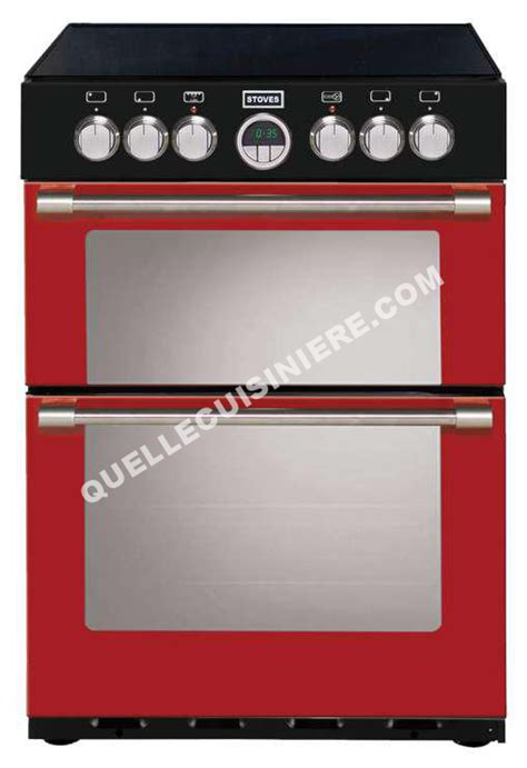 cuisiniere stoves piano de cuisson sterling 600 ei eu jalapeno 60 cm induction