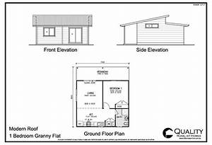 Meadow lea 1 bedroom granny flat kit home kit homes online for 1 bedroom floor plan granny flat