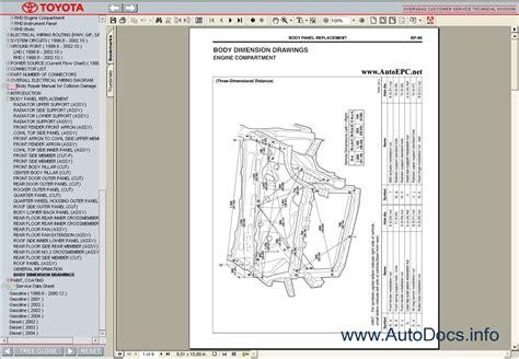 toyota yaris verso echo   service manual repair manual order