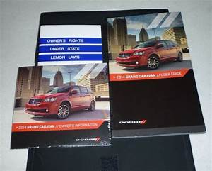 2014 Dodge Grand Caravan User Guide Owners Manual Set 14