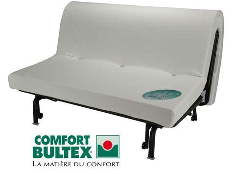 matelas bultex pour canapé convertible banquette lit bz 140 cm bultex hr 35 vente de banquette