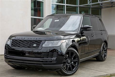 2019 Land Rover Hse by New 2019 Land Rover Range Rover Hse Sport Utility In